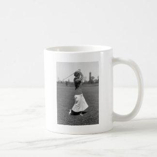 Women's Golf Fashion, 1910s Classic White Coffee Mug
