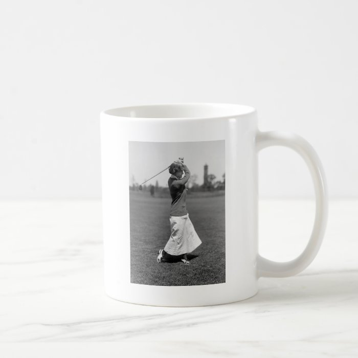 Women's Golf Fashion, 1910s Coffee Mug