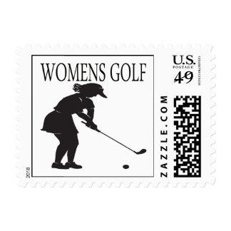 Womens Golf Postage