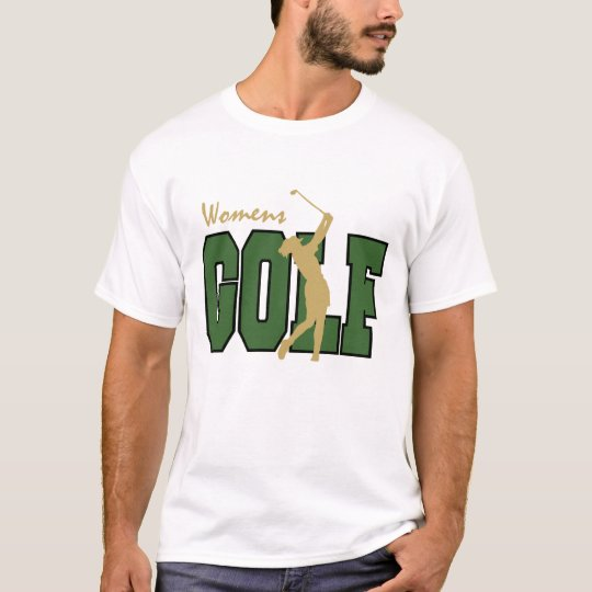 Women's Golf t-shirt