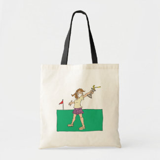Womens Golf Trophy Tote Bag