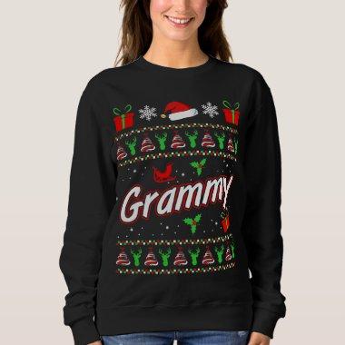 Womens Grammy Christmas T-shirt gift idea