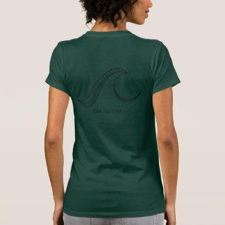 Women's Green Crew Shirt