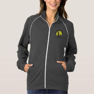 Women's Grey California Fleece Jacket