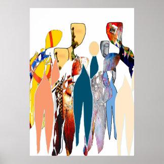 Women's group BERNADO KIND Poster