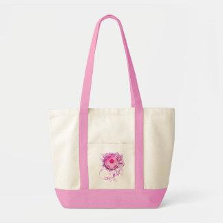 Women's Grunge Floral Soccer Bag Purse