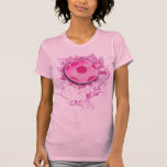 Women's Grunge Floral Soccer Fashion Shirt