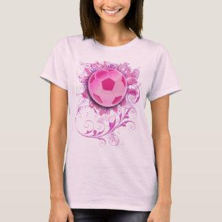 Women's Grunge Floral Soccer Shirt
