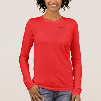 """Women's """"GSP Mom"""" Relaxed Fit 3/4 Sleeve V-Neck Long Sleeve T-Shirt"""