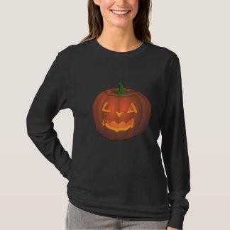 Women's Halloween Shirt Jack-o-lantern Shirt Tee