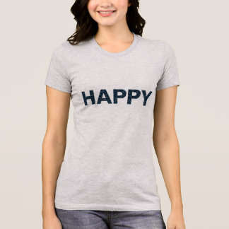 Womens Happy Tshirt