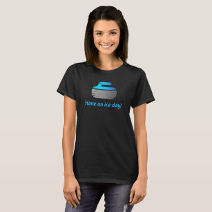 ab73b4a74 I throw rocks at houses curling T-Shirt. $16.15. 25% Off with code  MADEWLOVEZAZ. Women's