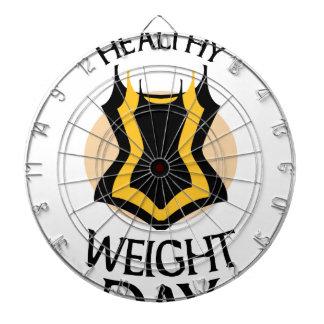 Women's Healthy Weight Day - Appreciation Day Dartboard