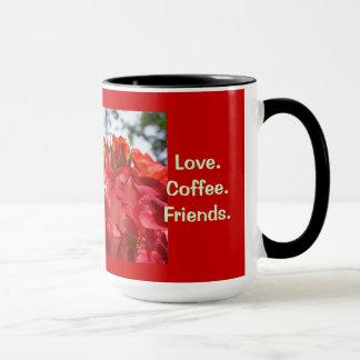 Women's Heart Health mugs Love Coffee Friends