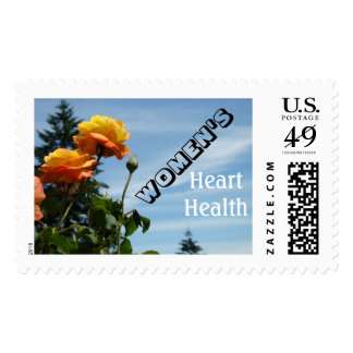 Women's Heart Health postage stamps Personalize