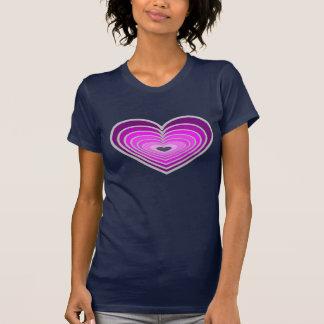 Womens heart t shirt. T-Shirt
