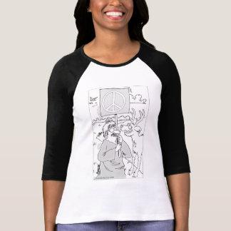 Women's Hippie Protester shirt