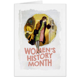 Women's History Month - Appreciation Day Card
