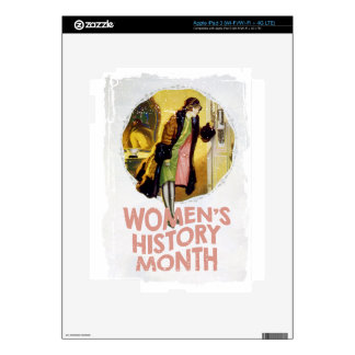 Women's History Month - Appreciation Day iPad 3 Skin