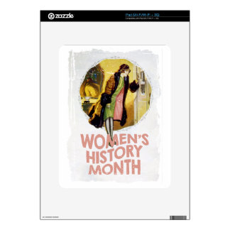 Women's History Month - Appreciation Day iPad Decals