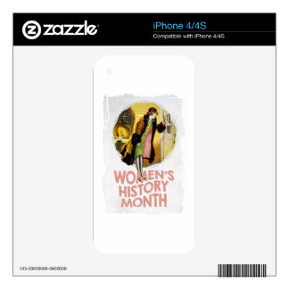Women's History Month - Appreciation Day iPhone 4 Skin