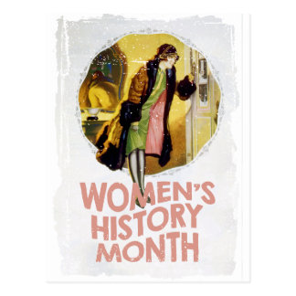 Women's History Month - Appreciation Day Postcard
