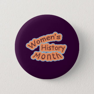 Women's History Month Button