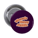 Women's History Month Buttons