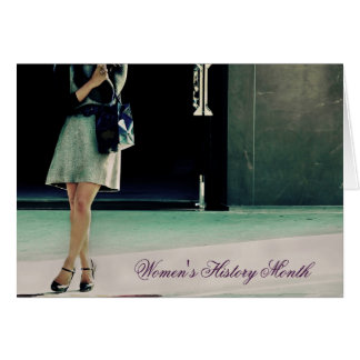 Women's History Month Card