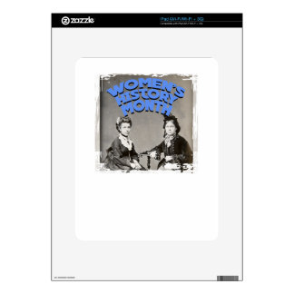 Women's History Month Decal For iPad