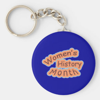 Women's History Month Keychain