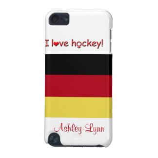 Women's Hockey!-German flag/Female Name iPod Touch 5G Cover