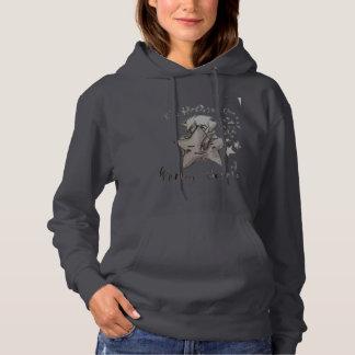 Women's Hooded 'WARPU HOSHI' Sweatshirt