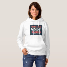 Women's Hoodie w/ March Logo at Zazzle