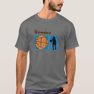 womens hoops basketball design T-Shirt