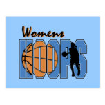 Women's Hoops T-shirts and Gifts Postcard