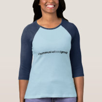 Women's #hummusisafoodgroup Baseball T-Shirt