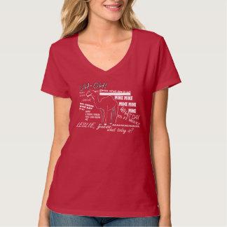 Womens Hump Day V-Neck T-Shirt