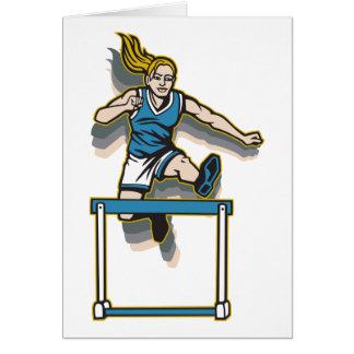 Women's Hurdles Card
