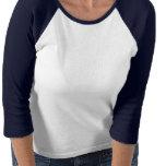 Womens Husky Baseball Jersey Shirt Sled Dog Shirt