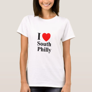 Womens I Love South Philly T-SHIRT - Customized