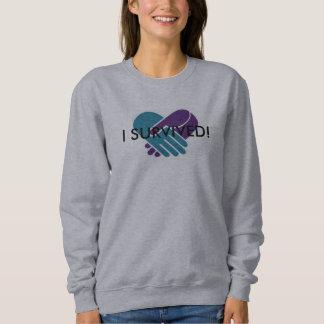 """Women's """"I Survived"""" Sweatshirt"""