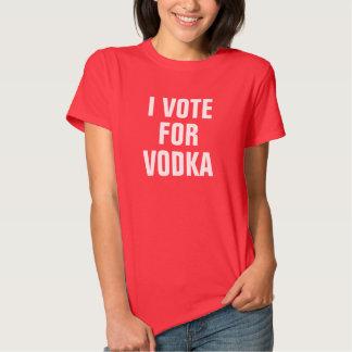 Women's I Vote For Vodka T-Shirt