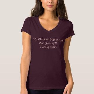 Women's Jersey V-Neck T-Shirt _ Alumni _ Custom
