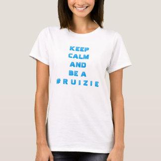 "Women's ""Keep Calm.. #RUIZIE"" T-Shirt"