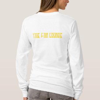 Women's L/S basic Lounger Tee  white/yellow
