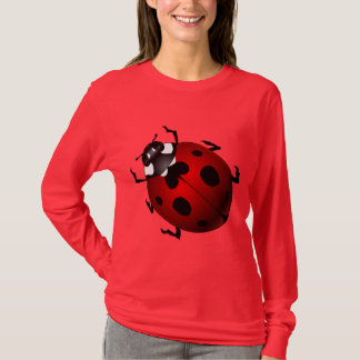 Women's Ladybug T-shirts Lady's Ladybug Shirts