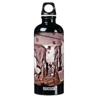Women's Land Army DAIRY Aluminum Water Bottle