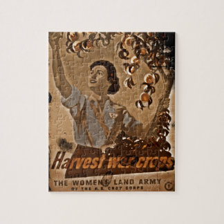 Women's Land Army Harvesting Puzzles