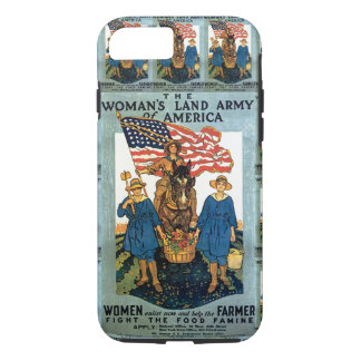 Women's Land Army iPhone 7 Case
